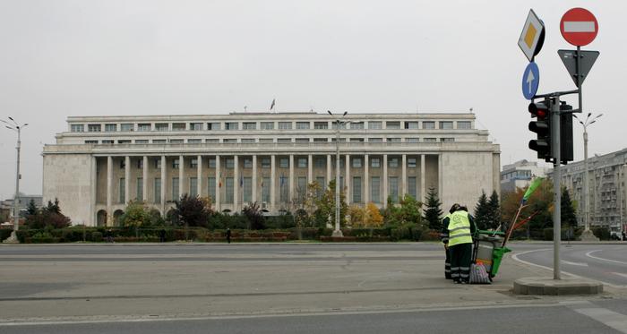 Palatul Victoria, sediul Guvernului României.