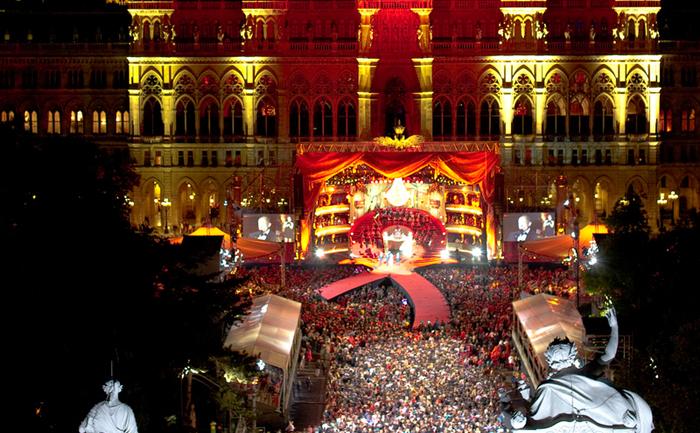 Evenimentul caritabil Life Ball, de la Viena