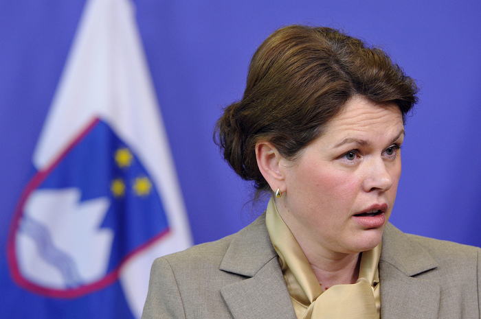 Fostul premierul sloven Alenka Bratusek.