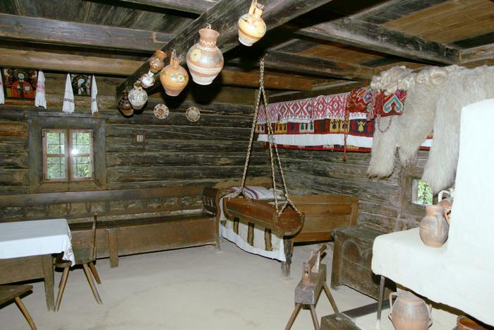Interior de casă ţărănească