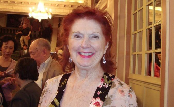 Mary Lou Wilkinson a participat la spectacolul susţinut de Shen Yun Performing Arts la Teatrul Merriam din Philadelphia în 4 mai 2013.