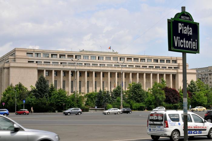 Palatul Victoria, Guvernul României