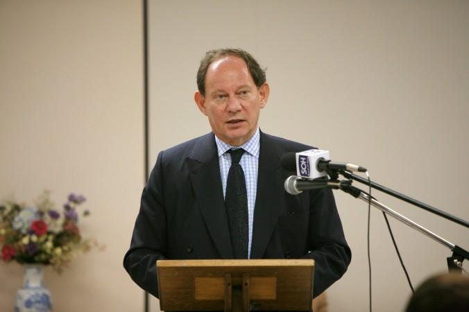 Edward McMillan-Scott, vicepreşedinte al Parlamentului European.