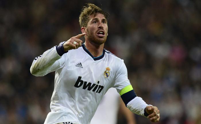 Fundaşul lui Real Madrid, Sergio Ramos.