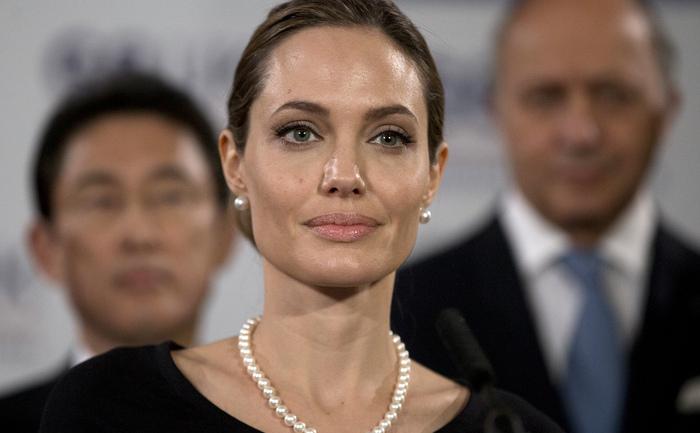 Actriţa americană Angelina Jolie.
