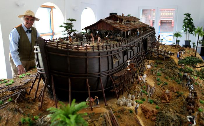 Arca lui Noe în miniatură.