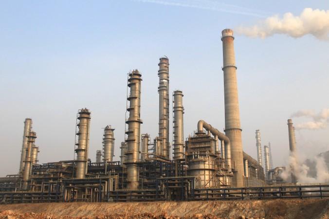 Uzină chimică în oraşul Dalian, provincia Liaoning în nord-estul Chinei, la 18 ianuarie 2013