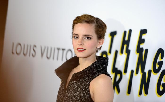 Tânăra actriţă Emma Watson.