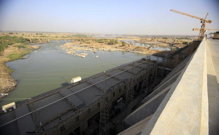 """""""Marele Dig al Renaşterii"""" de pe Nilul Albastru în Etiopia."""