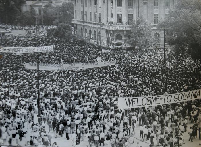 Piaţa Universităţii, 13-15 iunie 1990