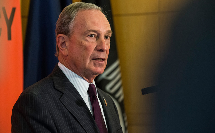 Fostul primar al oraşului New York, Michael Bloomberg.