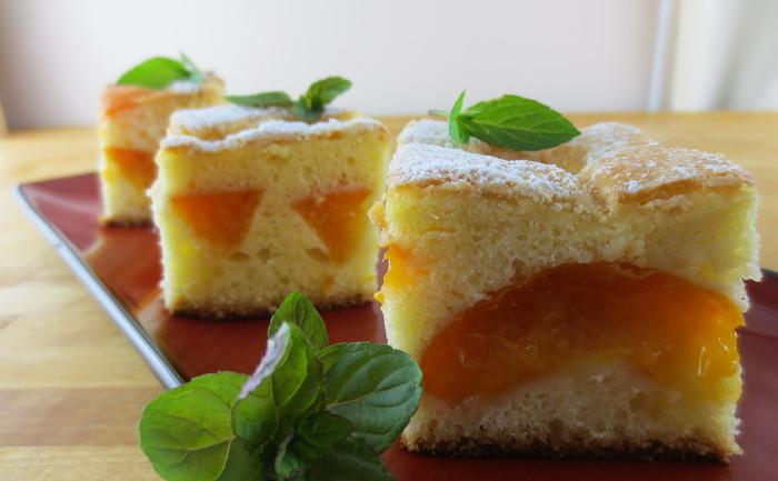 Prăjitura cu caise