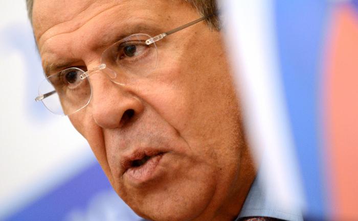 Ministrul rus de Externe, Sergei Lavrov.