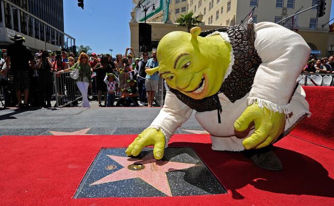 Personajul animat Shrek