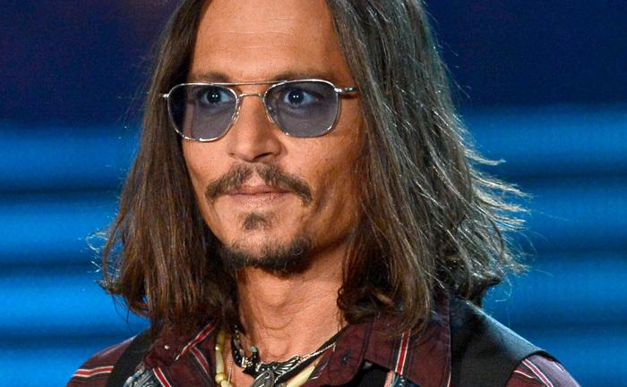 Actorul Johnny Depp.