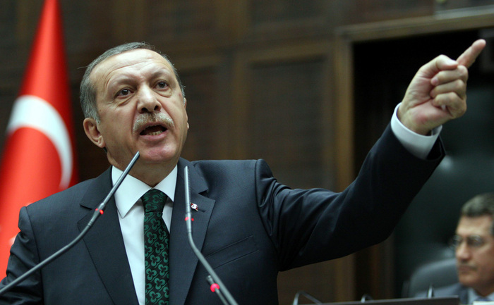 Primul ministru turc, Recep Tayyp Erdogan.