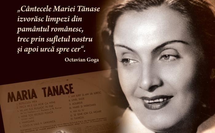 Panou Maria Tănase