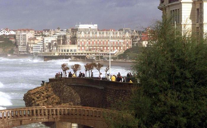 Vedere a Hotel du Palais din Biarritz