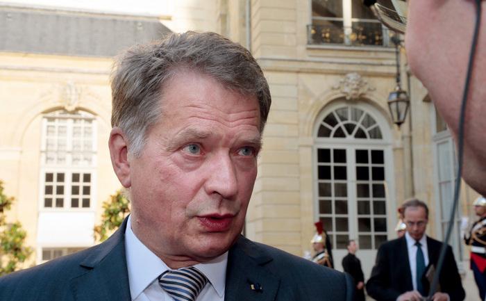 Preşedintele Finlandei, Sauli Niinisto.
