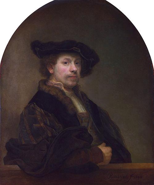 Rembrand autoportret