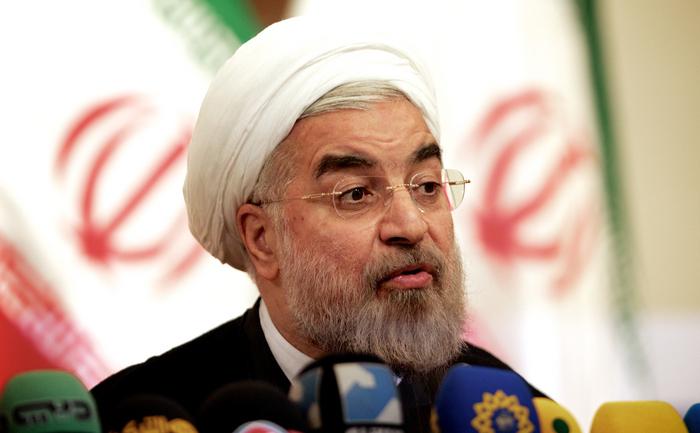 Preşedintele Iranului, Hassan Rouhani.