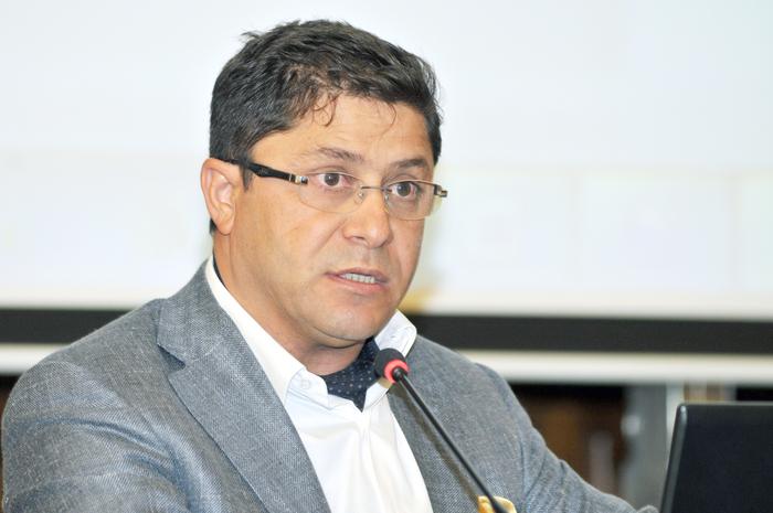 Omul de afaceri Gruia Stoica.