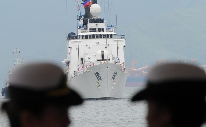 Japonia-China: Nave chineze în Senkaku.