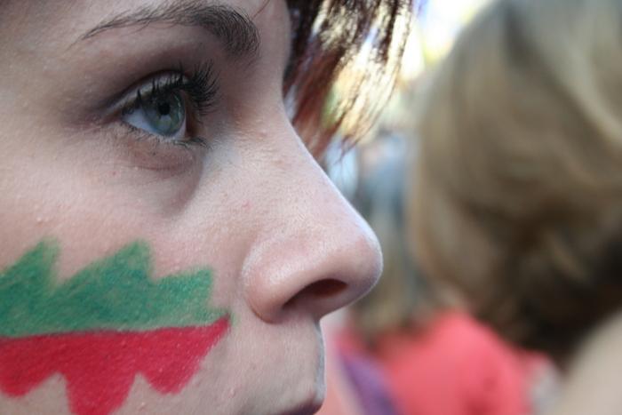 Proteste împotriva exploatării cu cianură de la Roşia Montană