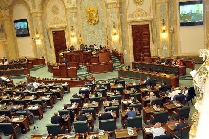 Deschiderea sesiunii parlamentare, Şedinţă de Plen la Senat