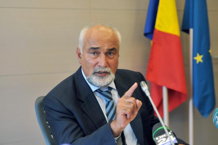 Conferinţa de presă la Ministerul Economiei susţinută de Varujan Vosganian