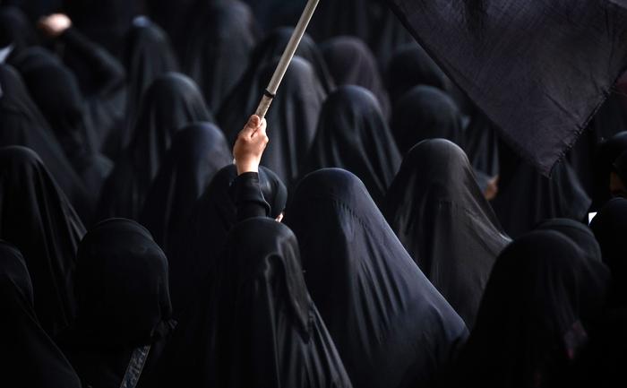 Femei arabe.