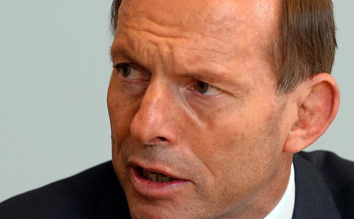 Primul ministru australian Tony Abbott.