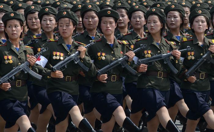 Paradă nord-coreană, 27 iulie 2013, Phenian