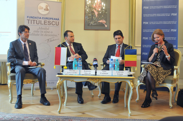 Casa Titulescu, Forumul Societăţii Civile Româno-Polone, Conferinţă parteneriat strategic româno-polone