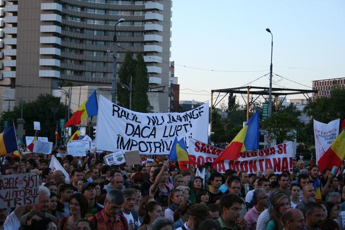 Salvaţi Roşia Montană - protestele continuă în întreaga lume pe 15 septembrie 2013