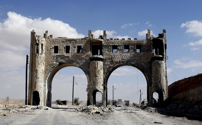 Siria, intrarea în oraşul Maalula