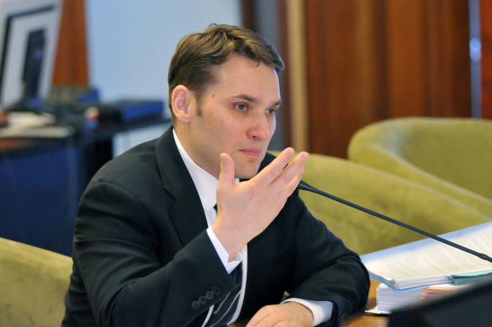 Dan Şova, audiat de Comisia pentru Roşia Montană. Parlamentul României, 30 septembrie 2013