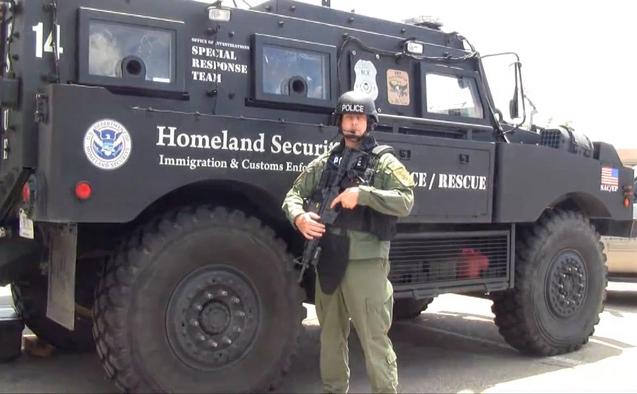 2700 de vehicule blindate retrase din Irak, au intrat în utilizare la FEMA, Departamentul Homeland Security (DHS), Statele Unite