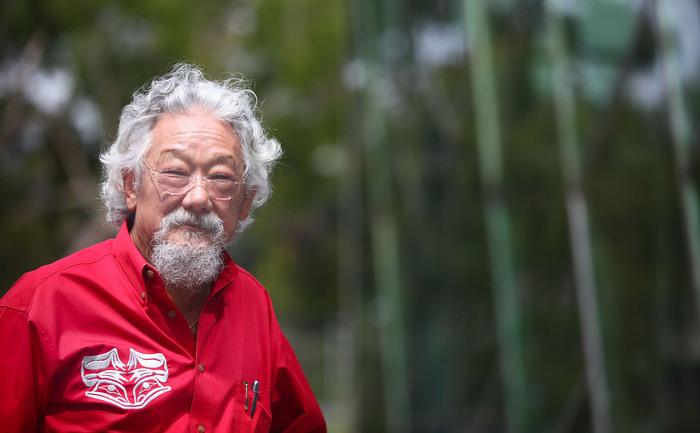 Savantul şi ecologistul David Suzuki.