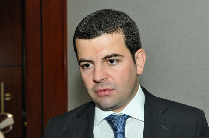 """Conferinţa """"AGRI-BUSINESS în profit"""". În imagine, Daniel Constantin"""