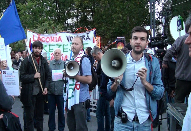 Claudiu Crăciun, Piaţa Universităţii, proteste împotriva proiectului Roşia Montana