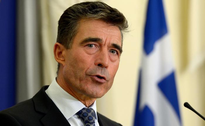 Atena - Anders Fogh Rasmussen, 10 octombrie 2013.