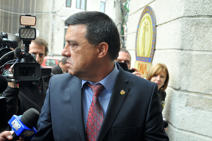 Nicolae Bădălău, senator PSD - Giurgiu, la audieri DNA