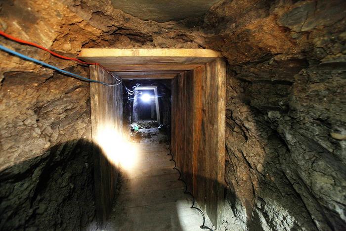 Un tunel descoperit în anul 2011 prin care se transportau droguri din Tijuana către San Diego