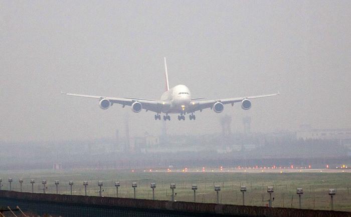 China, aeroportul din Shanghai