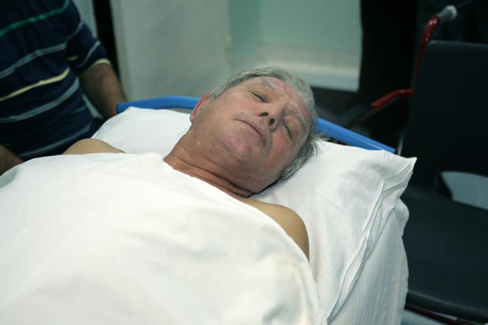 Bolnavi în spital