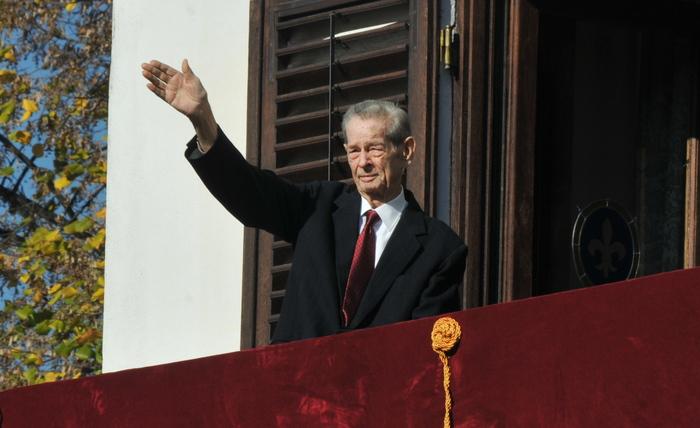 Regele Mihai I al Romaniei, 8 noiembrie 2013 Palatul Elisabeta