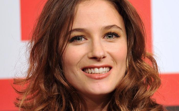 Actriţa franceză Melanie Bernier, 13 noiembrie 2013