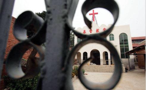 O biserică creştină din oraşul Yanshi, provincia Henan. Un pastor şi 20 de creştini au fost arestaţi pe 16-17 noiembrie, conform organizaţiei China Aid