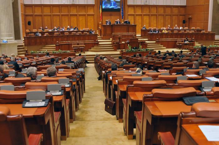 Parlamentul României, Camera Deputaţilor, şedinţă în plen